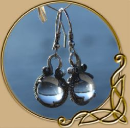 Gotland crystal ball earings